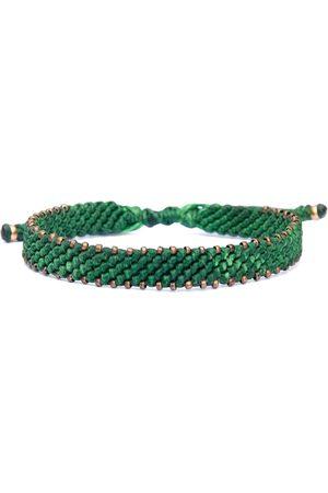 Artisanal Green Bronze & Rope Bracelet For Men - Bronze Connection Harbour UK Bracelets