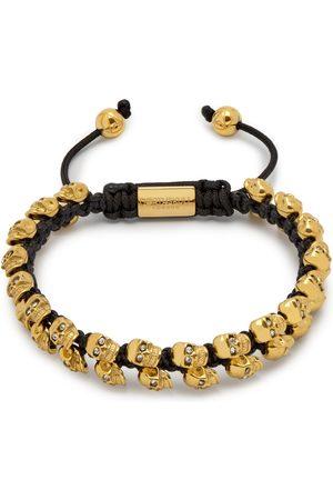 Men Bracelets - Men's Gold Mini Swarm Bracelet In Northskull