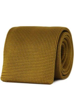 Men's Artisanal Yellow/Orange Y'Ello! Necktie Tom Astin