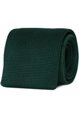 Men's Artisanal Green Moss Boss Necktie Tom Astin