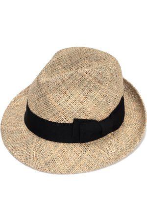 Men Hats - Artisanal Natural Cotton Classic Fedora Hat For Men 58cm Justine Hats