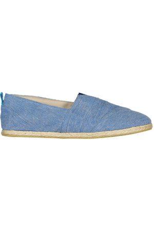 Men's Recycled Blue Cotton Whelk Espadrilles Shoes 11 UK Panareha