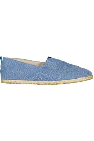 Men's Recycled Blue Cotton Whelk Espadrilles Shoes 12 UK Panareha