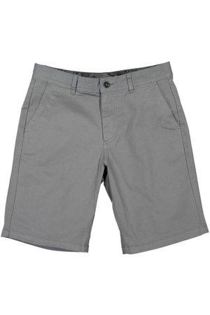 Men Bermudas - Men's Recycled Grey Cotton Turtle Bermuda Shorts 32in Panareha