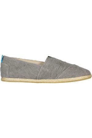 Men's Recycled Grey Cotton Whelk Espadrilles Shoes 12 UK Panareha