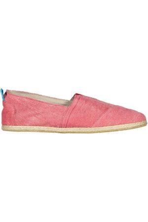 Men's Recycled Red Cotton Whelk Espadrilles Shoes 8 UK Panareha