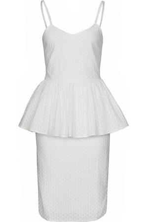 Women Bathrobes - Women's Natural Fibres White Cotton The Samaah Dress In XS IMAIMA
