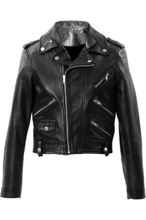 Women Leather Jackets - Women's Natural Leather Lara Medium ALEXIA ULIBARRI