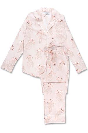 Women Sweats - Women's Organic Blush Cotton Jellyfish Long Set XL Moon + Mellow