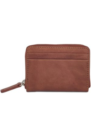 Men Wallets - Men's Brown Cotton Billfold Wallet Tan Nappa Dori