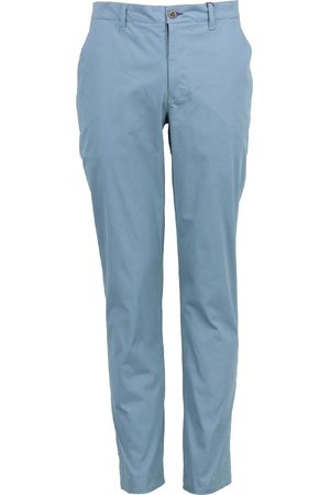 Men's Grey/Blue Cotton Jack Classic Chino 34in Lords of Harlech