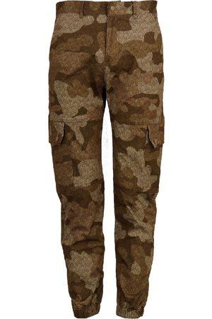 Men Cargo Pants - Men's Brown Cotton G.i. Cargo 32in Lords of Harlech