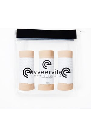 Women Thongs - Women's Low-Impact Natural Cotton Three Pack Of Smooth Finish Thongs Almond Butter Medium EVVEERVITAL