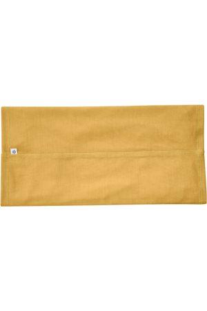 Organic Mustard Wool Men's 100% Traceable Superfine Merino Snood In Scarf Smalls Merino
