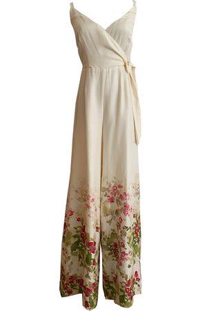 Women's Artisanal Olive Fabric Selena Jumpsuit XXS Lily & Lou