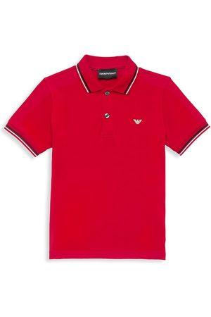 Armani Little Boy's & Boy's Pique Polo Shirt
