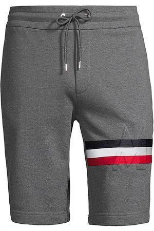 Moncler Drawstring Elastic Waistband Sweat Shorts