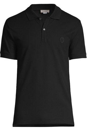 Alexander McQueen Pique Polo Shirt