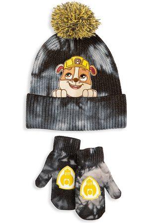 Andy & Evan x PAW Patrol Little Boy's Paw Patrol 2-Piece Tie-Dye Hat & Mitten Set