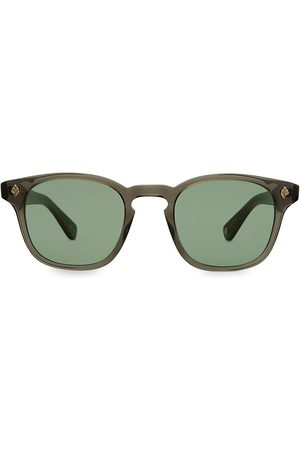 GARRETT LEIGHT Ace Sun 47MM Square Sunglasses
