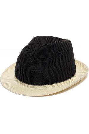 Men's Artisanal Black Stylish Fedora Hat 57cm Justine Hats