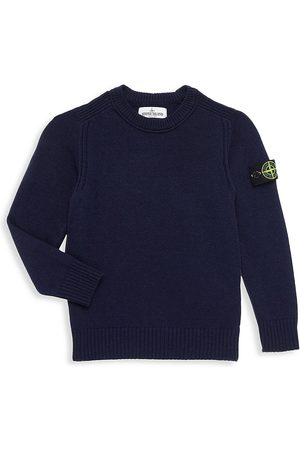 Stone Island Little Boy's & Boy's Wool-Cashmere Sweater