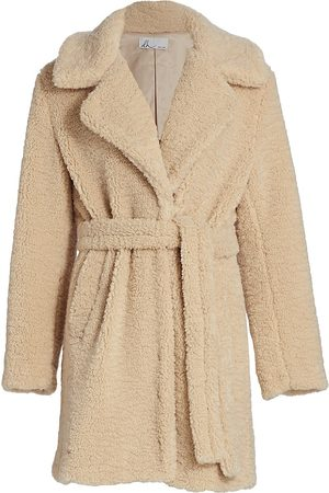 DH New York Lila Teddy Belted Trench Coat