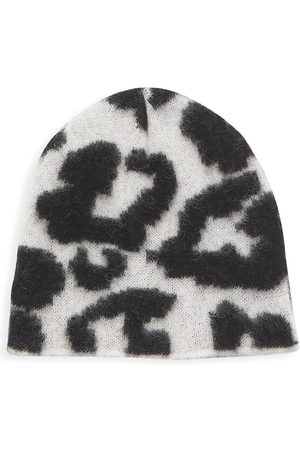 JOCELYN Animal Jacquard Brushed Alpaca-Blend Hat