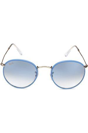 Ray-Ban Men Round - 50MM Round Sunglasses