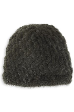 Pologeorgis Knitted Mink Hat