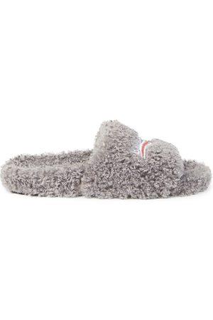 Balenciaga Plush Faux-Fur Slides