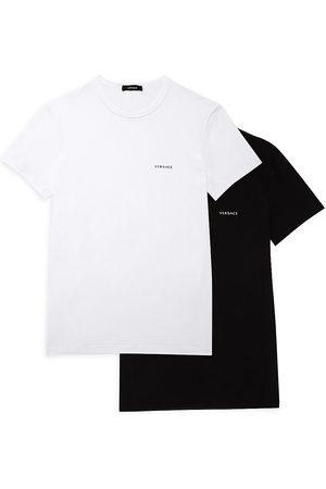 VERSACE Logo Crewneck T-Shirt