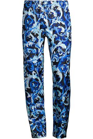 Versace Baroccoflage Silk Pajama Pants