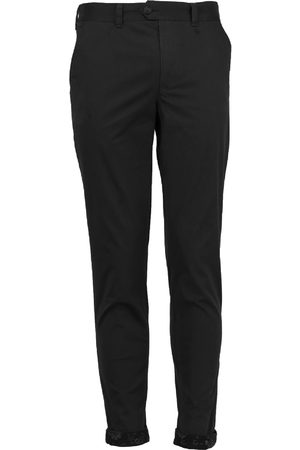 Men Chinos - Men's Black Cotton Jack Lux 34in Lords of Harlech