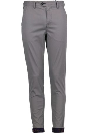 Men Chinos - Men's Grey Cotton Jack Lux 35in Lords of Harlech