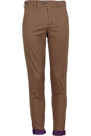 Men Chinos - Men's Taupe Cotton Jack Lux 38in Lords of Harlech