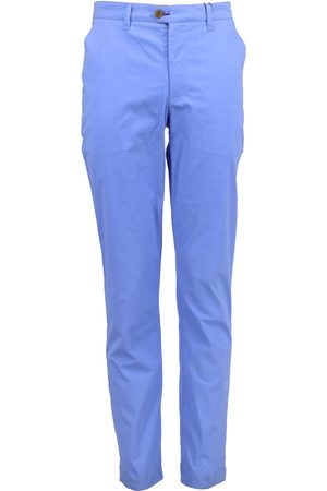 Men Chinos - Men's Blue Cotton Jack Lux 32in Lords of Harlech
