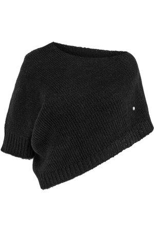 Women's Artisanal Black Cotton Bolero Medium You by Tokarska