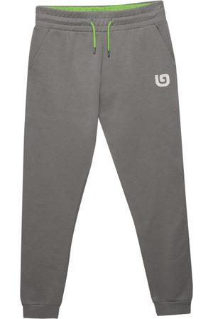 Men Sweatpants - Organic Grey Cotton Men's G Collection Joggers Medium That Gorilla Brand