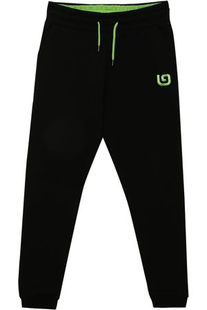 Men Sweatpants - Organic Black Cotton Men's G Collection Joggers Large That Gorilla Brand
