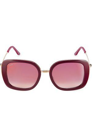 Cartier Plastic Ladies 54MM Square Sunglasses