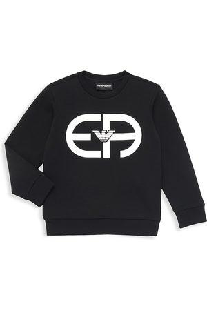 Armani Little Boy's & Boy's Logo Sweatshirt