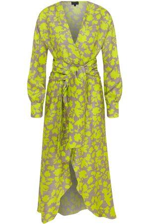 Women Bathrobes - Women's Artisanal Silk Elora Herra Dress Medium ShotOf