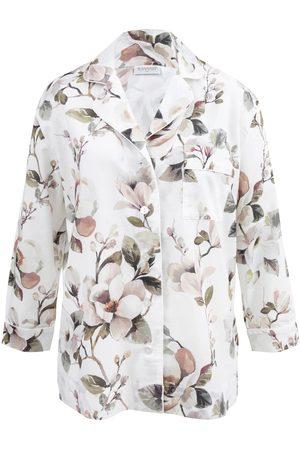 Women Pajamas - Women's Low-Impact Pink Cotton Magnolia Organic Pyjama Shirt Medium Wallace Cotton