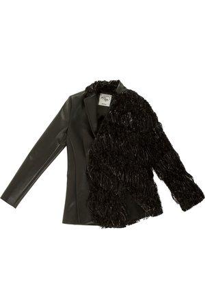 Women Leather Jackets - Women's Artisanal Black Leather Tracey Jacket XS Boo Pala