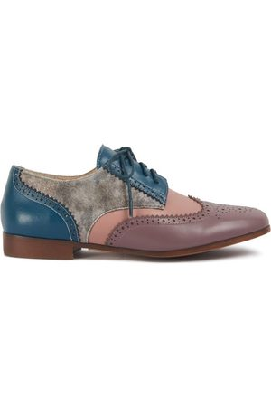 Women Brogues - Women's Low-Impact Leather Brighton Clove Shoes 7 UK Yull Shoes