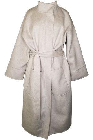Women Sweats - Women's Natural Wool Kiyo Coat - Light Brown XS Emma Wallace