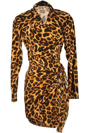 Women Wrap tops - Women's Artisanal Leopard Yoga Wrap Small Jennafer Grace