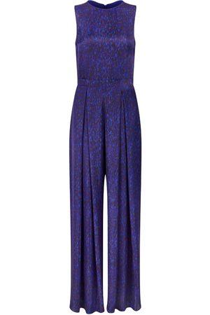 Women Jumpsuits - Women's Artisanal Blue Pippa Jumpsuit - Flecked Sapphire Small Isabel Manns