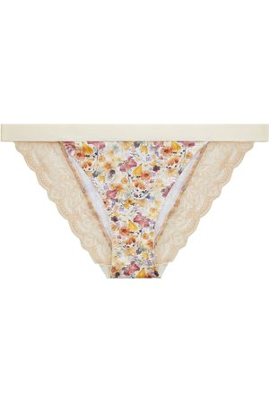 Women Hipsters - Women's Artisanal Natural Cotton Your Own Path Classic Briefs Large yown